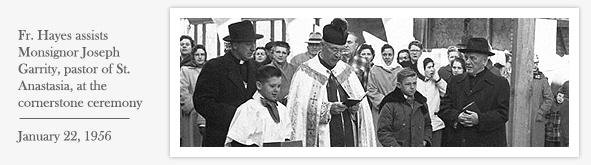 Fr. Hayes Monsignor Garrity