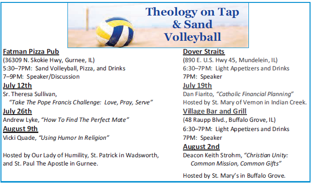 Theology on Tap 2015