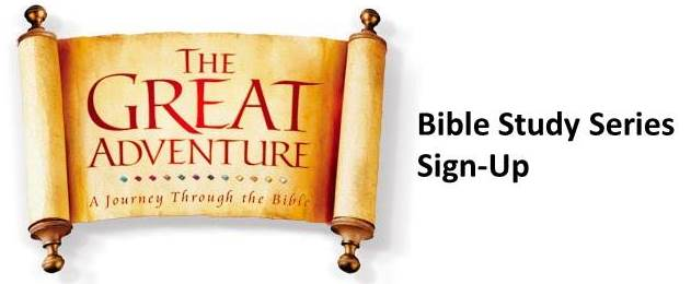 Bible Study Series Sign-up