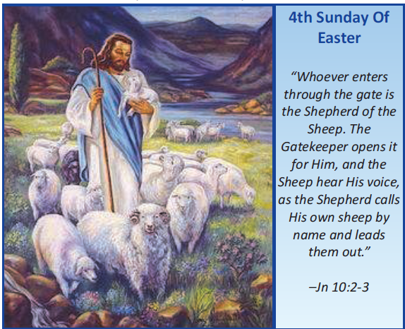 Image result for FOURTH SUNDAY OF EASTER 2018